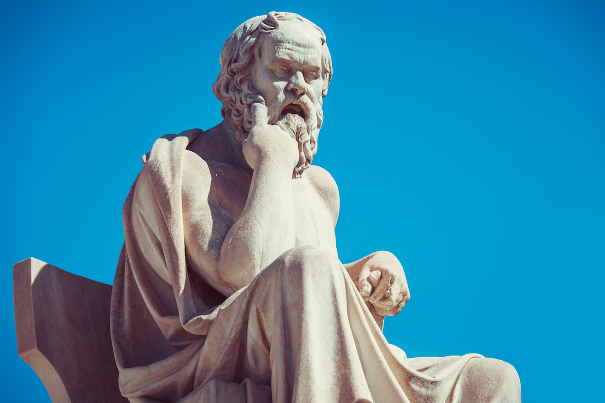 Tư tưởng độc đáo của triết gia Hy Lạp Socrates