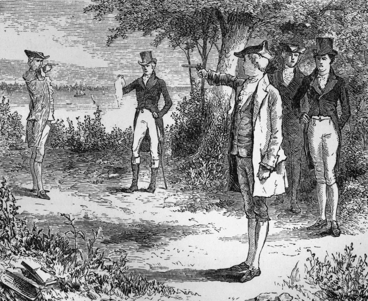Lịch sử những cuộc đấu súng tay đôi