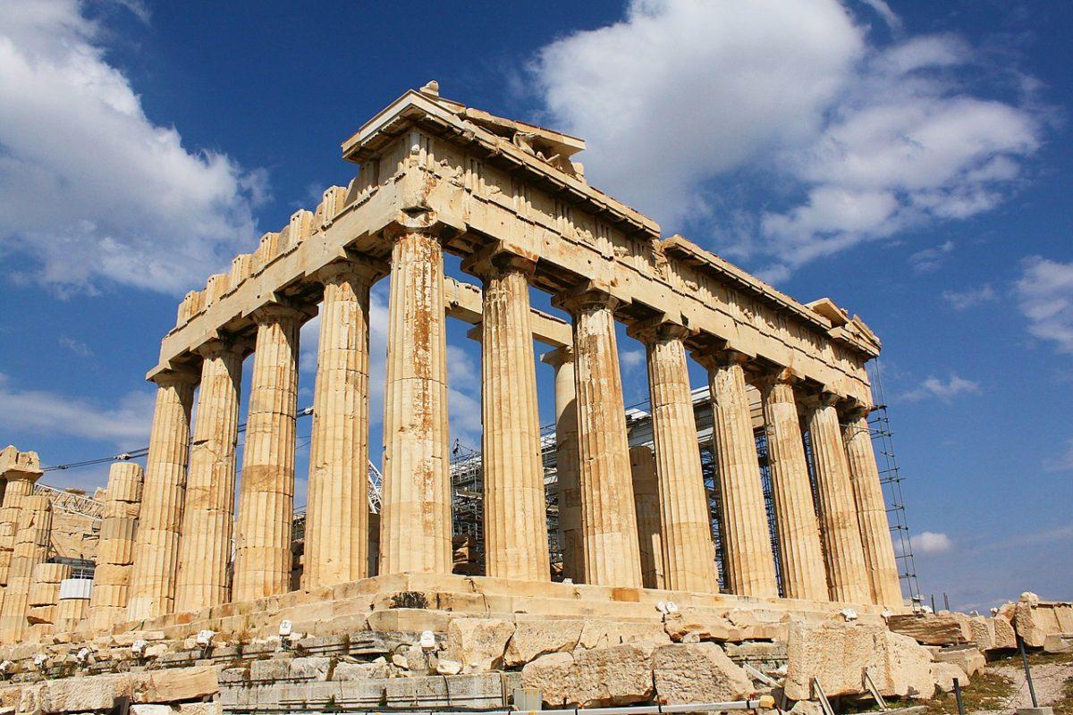 Vẻ đẹp của một số kỳ quan kiến trúc Hy Lạp cổ đại