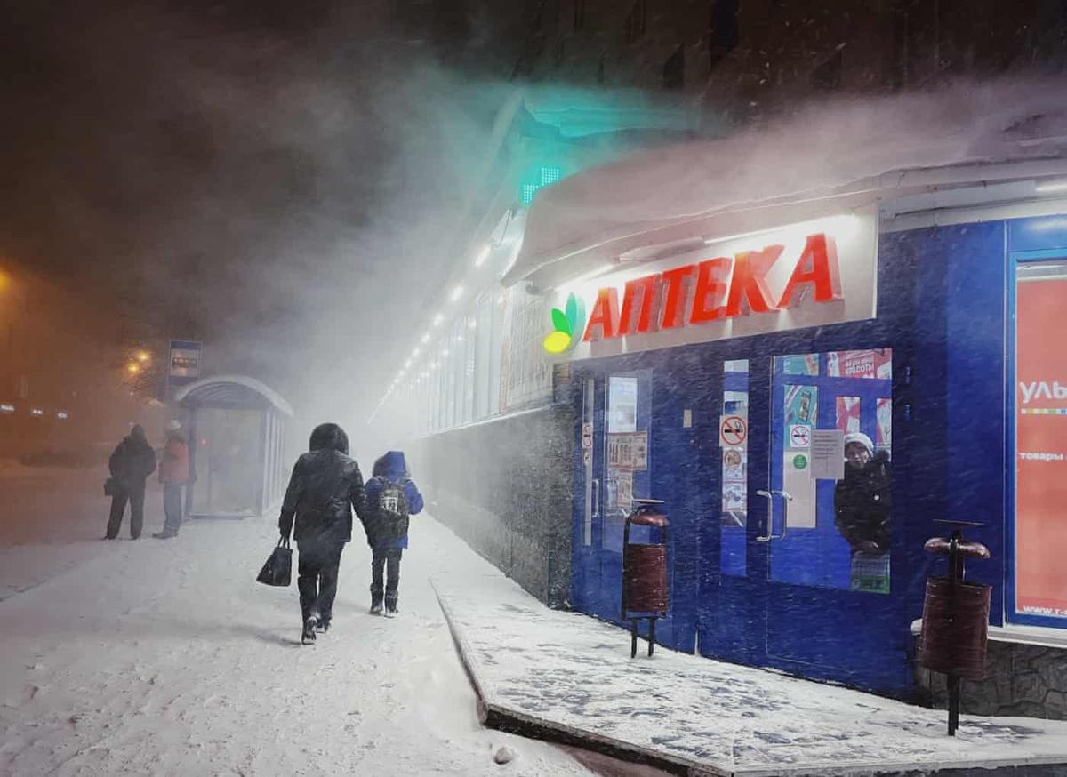 Chùm ảnh: Cuộc sống khi không có mặt trời ở thành phố Murmansk