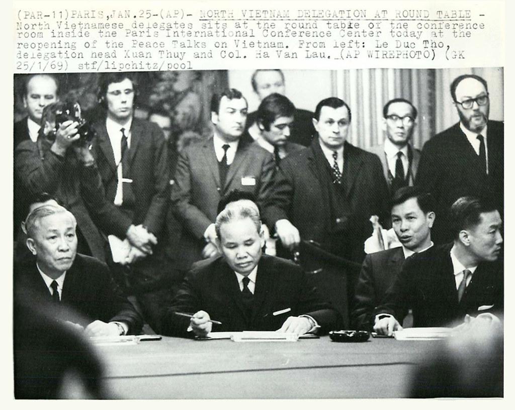 Các mốc lịch sử của quá trình đàm phán Hiệp định Paris