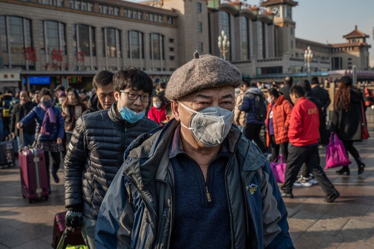 Chùm ảnh: Kỳ nghỉ Tết của người Trung Quốc giữa cơn ám ảnh virus corona