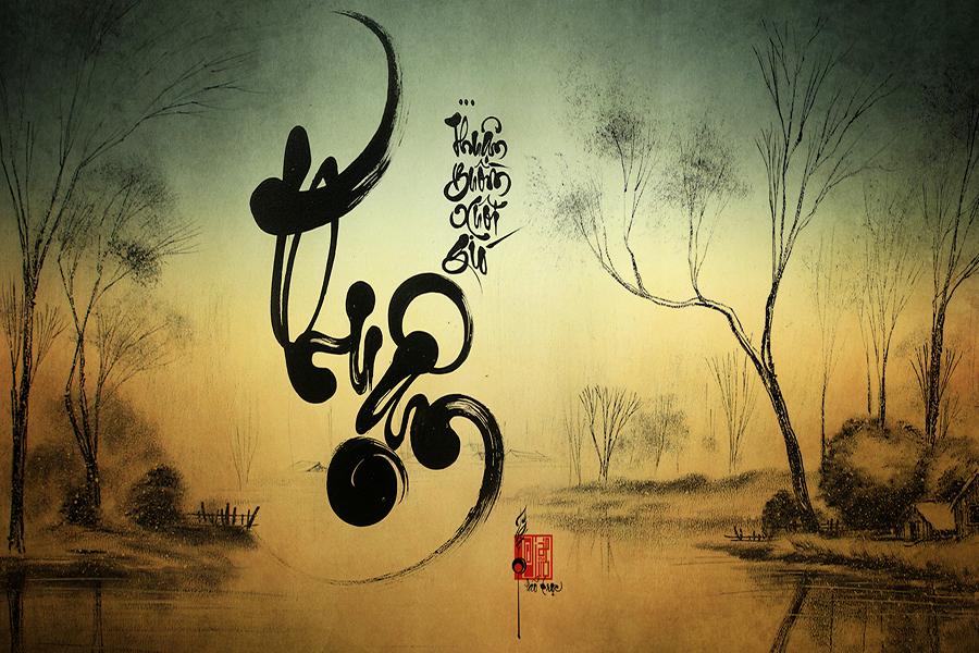Một cái nhìn về nghệ thuật thư pháp Việt thời hiện đại