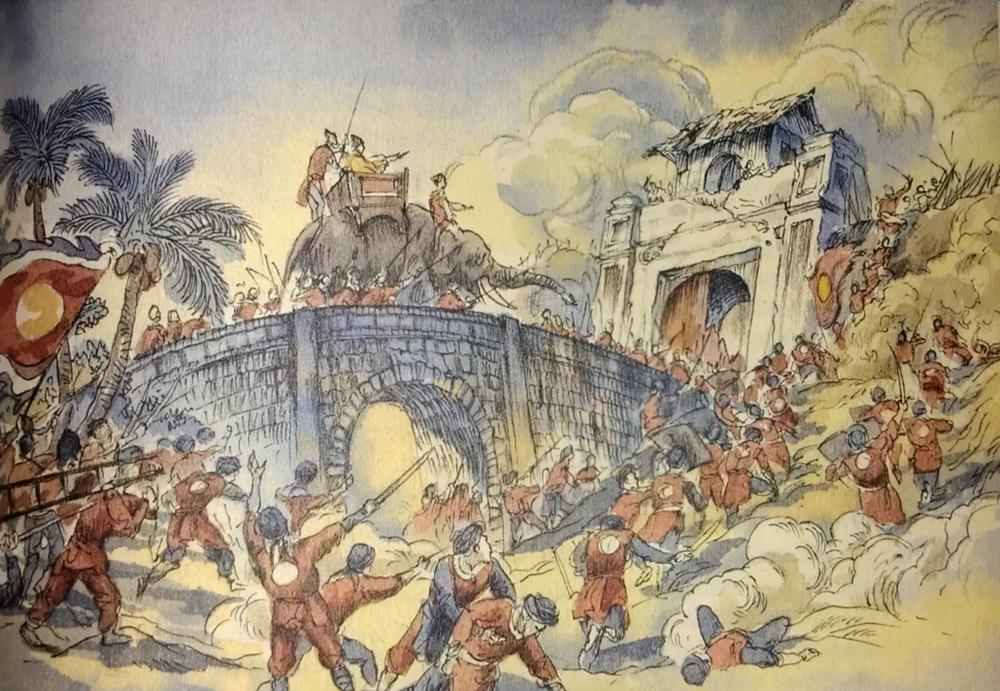 Chiến thuật 'qua sông đốt thuyền, ăn xong lấp giếng' trong trận Ngọc Hồi – Đống Đa
