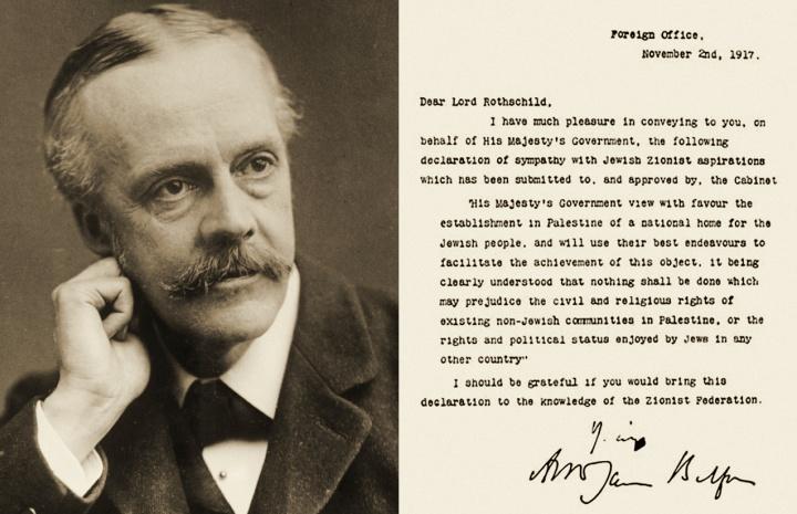 Tuyên bố Balfour 1917 – sự khởi đầu cho địa ngục của người Palestine
