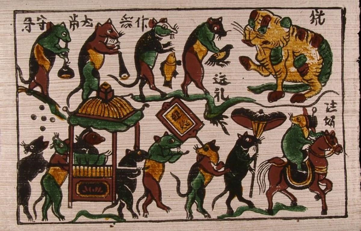 Năm Tý ngẫm lại những dấu ấn của chuột trong văn hóa dân gian Việt