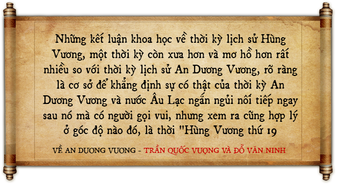 An Dương Vương và thành Cổ Loa: Kết luận của 4 GS uy tín nhất trong giới sử học Việt Nam - Ảnh 11.