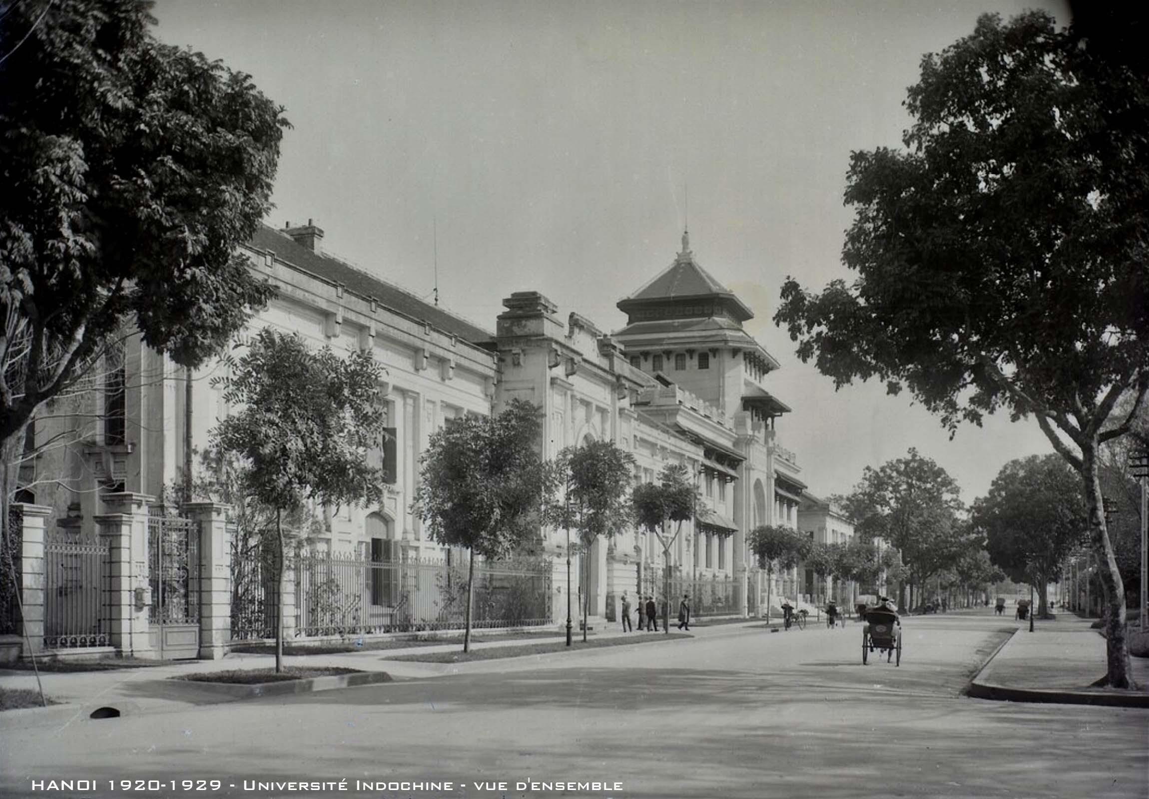 Chùm ảnh: Khám phá Đại học Đông Dương ở Hà Nội thập niên 1920