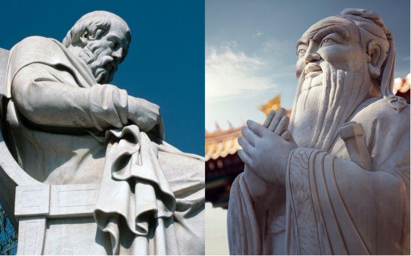 Vài so sánh về truyền thống tư tưởng phương Tây và phương Đông