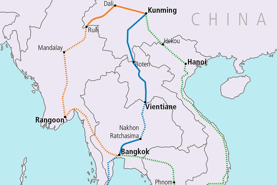 Đường sắt Côn Minh – Viêng Chăn và tương lai khó đoán định của Lào