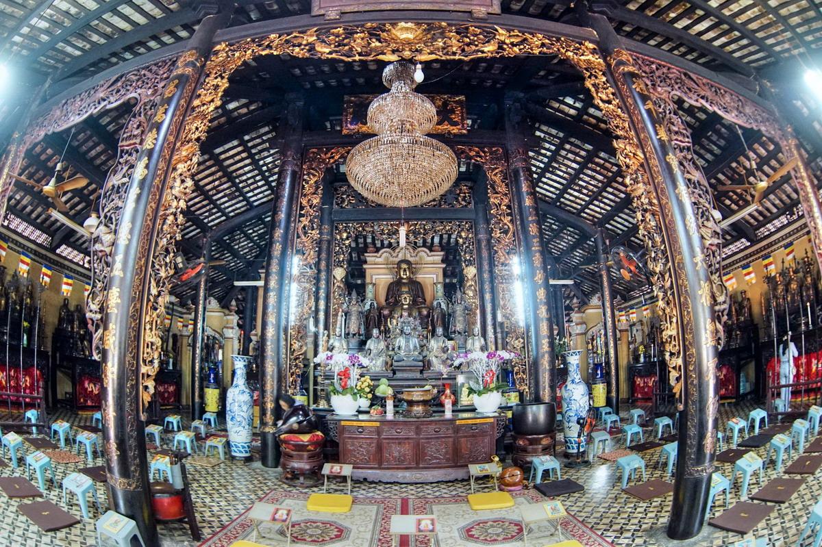 Chùm ảnh: Tổ đình Giác Lâm – ngôi chùa lâu đời nhất Sài Gòn
