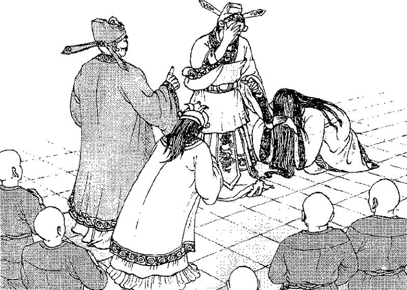 Phận đời 'đồng điệu' của ba mẹ con Hoàng hậu Trần Thị Dung