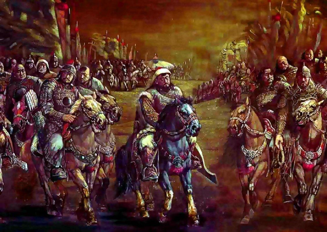 Cuộc xâm lược Trung Á của đế quốc Mông Cổ