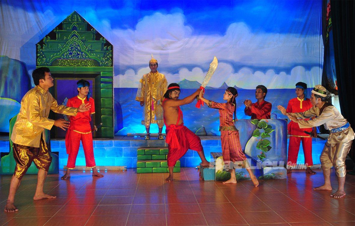 Nét đặc sắc trong nghệ thuật Dù kê của người Khmer Nam bộ