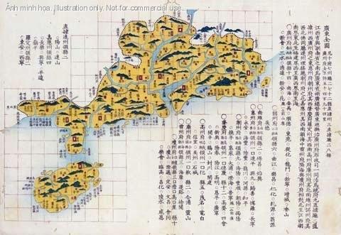 Những tảng đá ở Hải Nam phủ nhận chủ quyền Trung Quốc ở biển Đông