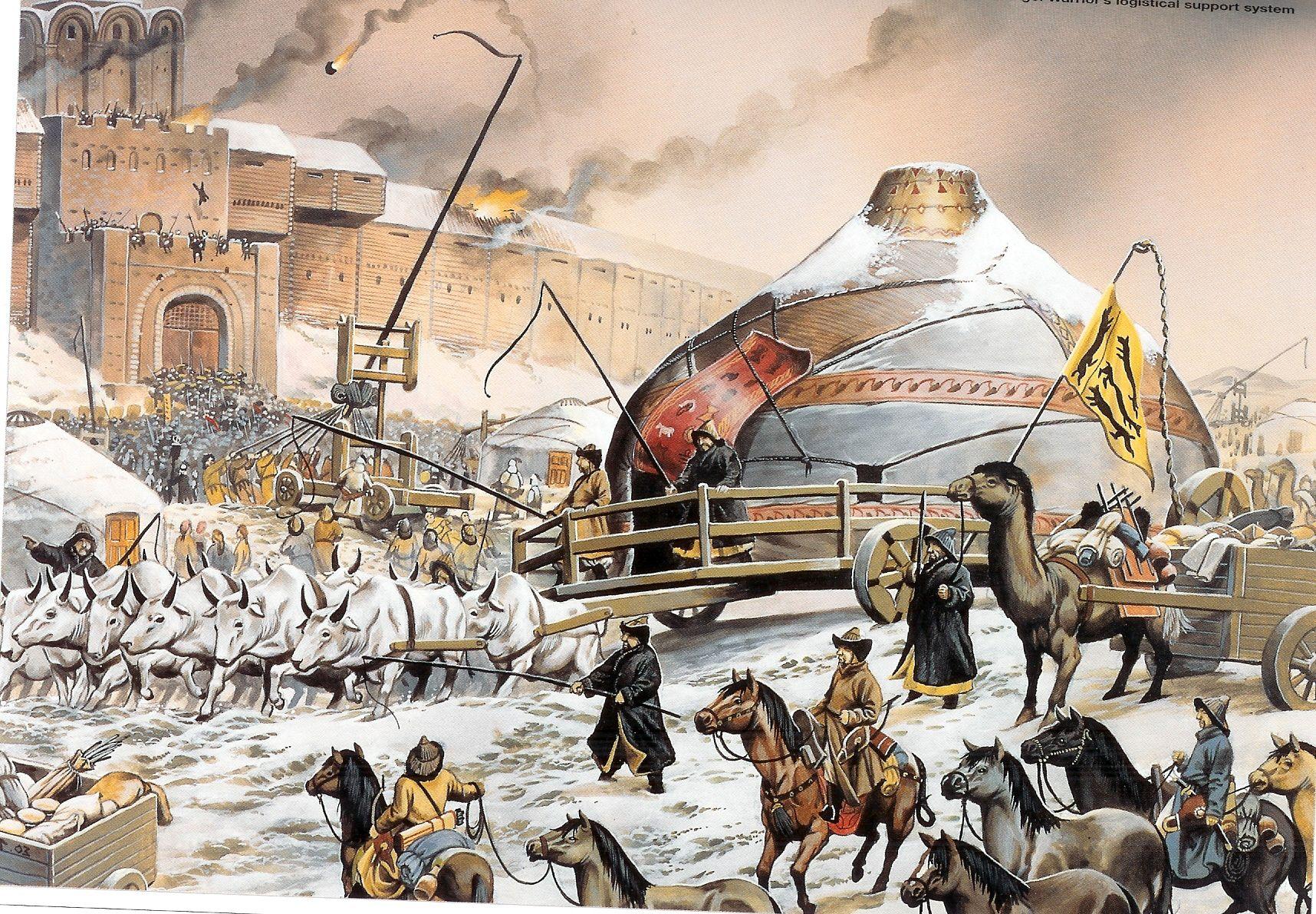 Bốn cuộc hành quân về phía Tây của đế quốc Mông Cổ