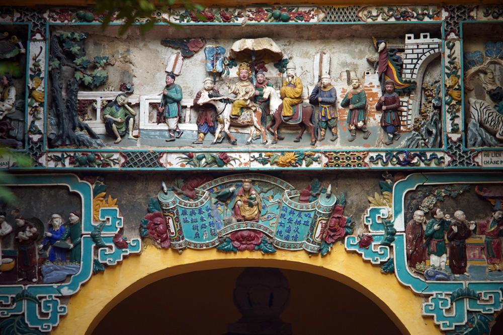 Chùm ảnh: Chùa Hưng Ký – ngôi chùa gốm sứ độc đáo của Hà Nội