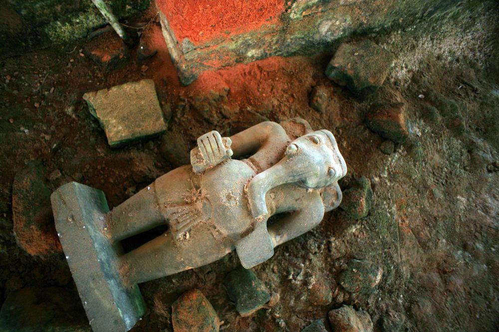 Chùm ảnh: Gò Thành – tàn tích nghìn tuổi của vương quốc Phù Nam