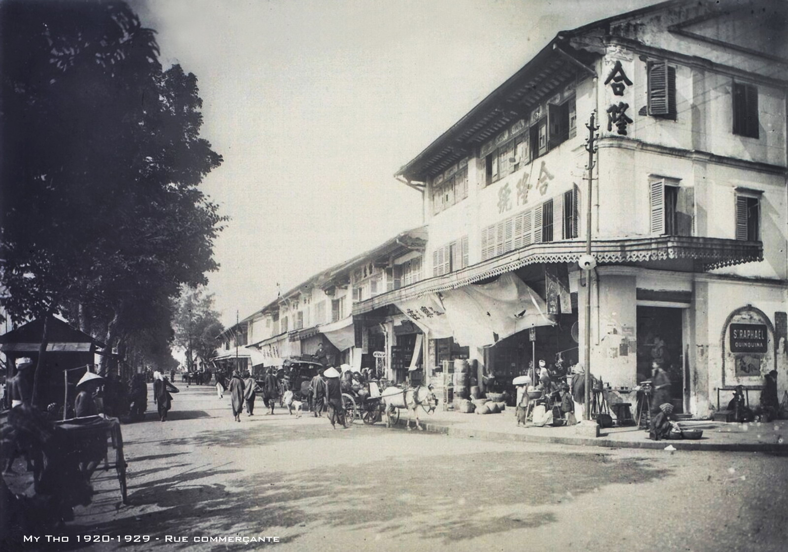 Chùm ảnh: Mỹ Tho thập niên 1920 qua ống kính của người Pháp