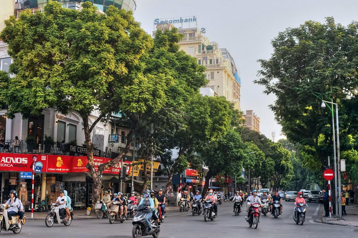 Chùm ảnh: Phố Hàng Bài và những trang sử dậy sóng của Hà Nội