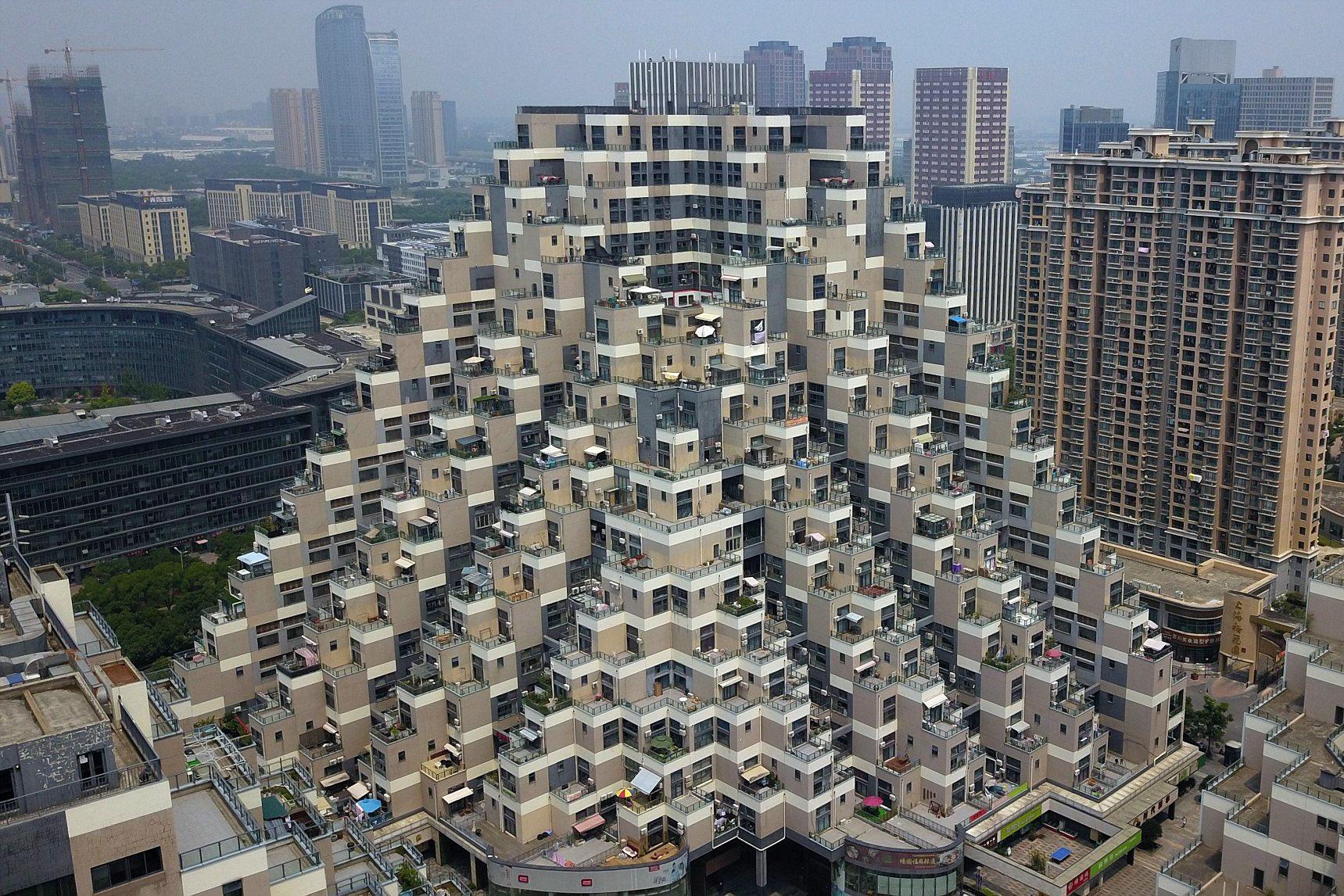 Chùm ảnh: Những công trình kiến trúc kỳ lạ ở Trung Quốc