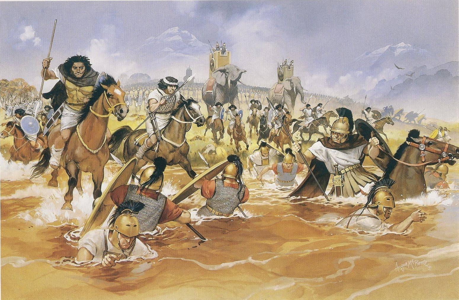 Những trận chiến diễn ra trong thời tiết khắc nghiệt nhất lịch sử