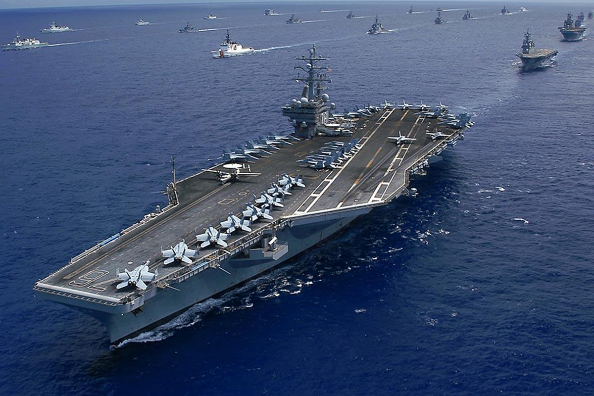 Vài nét về vai trò của tàu sân bay Mỹ trong tác chiến trên biển