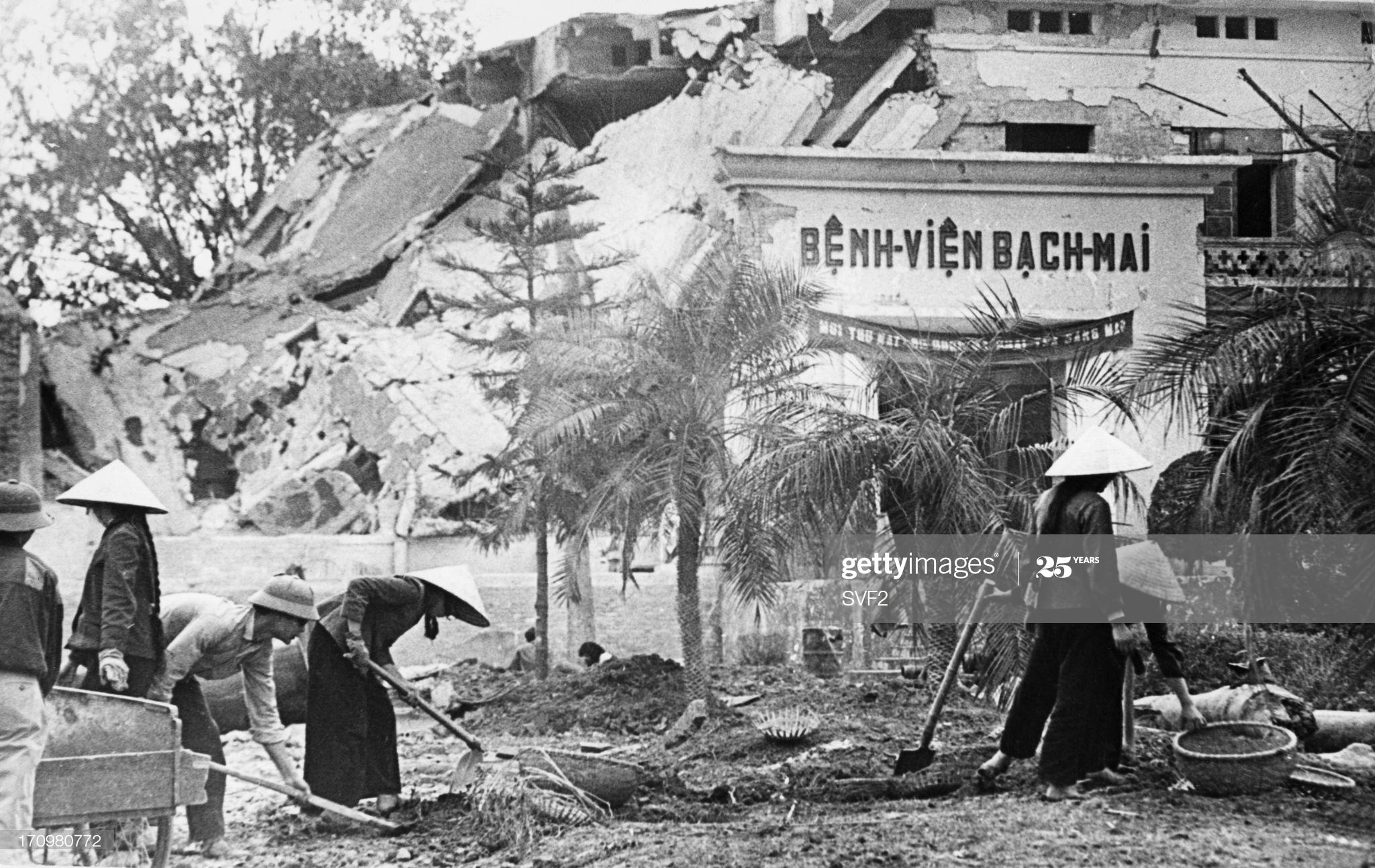 Chùm ảnh: Hà Nội kiên cường chống B-52 Mỹ tháng 12/1972