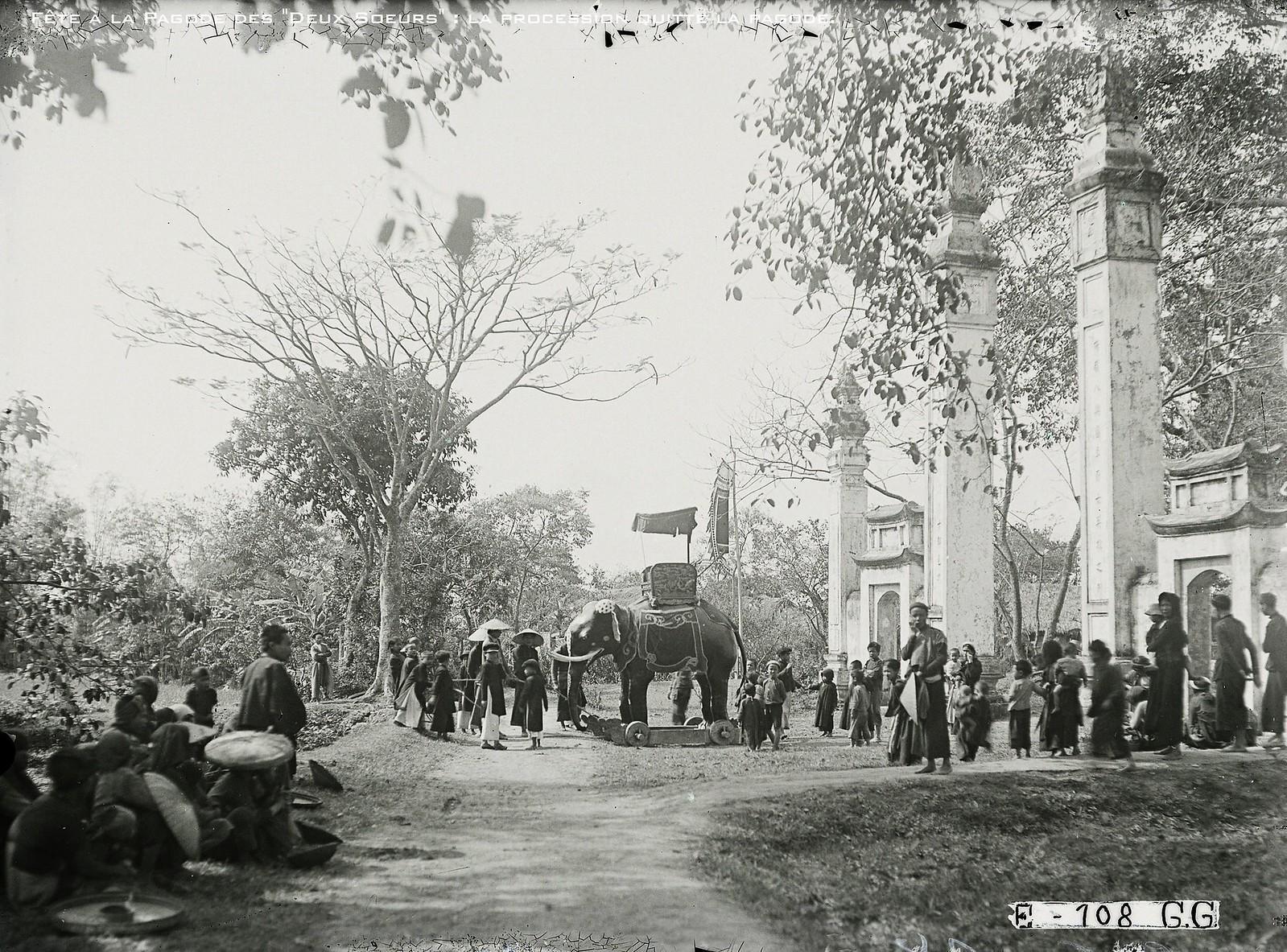 Chùm ảnh: Lễ hội đền Đồng Nhân ở Hà Nội thập niên 1920