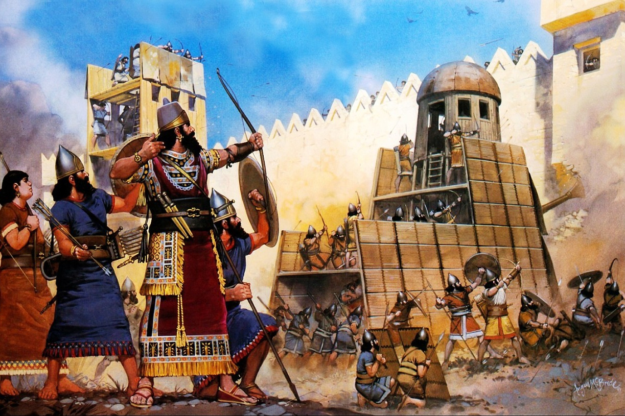 Đế chế Assyria – vinh quang của vị chúa tể trên chiến trường