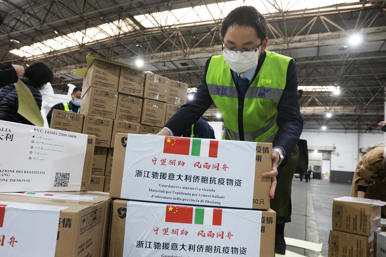 Màu sắc địa chính trị trong trợ giúp y tế của Trung Quốc cho Italia
