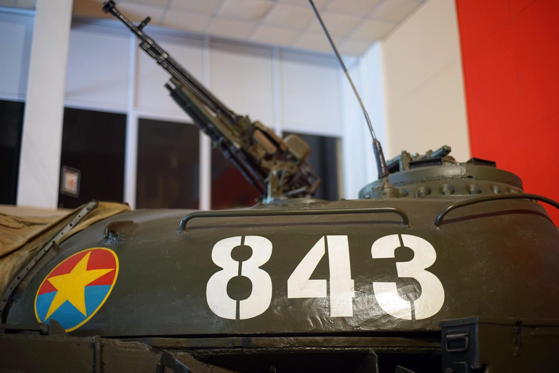 Chùm ảnh: Chiếc xe tăng tiên phong ở Sài Gòn ngày 30/4/1975