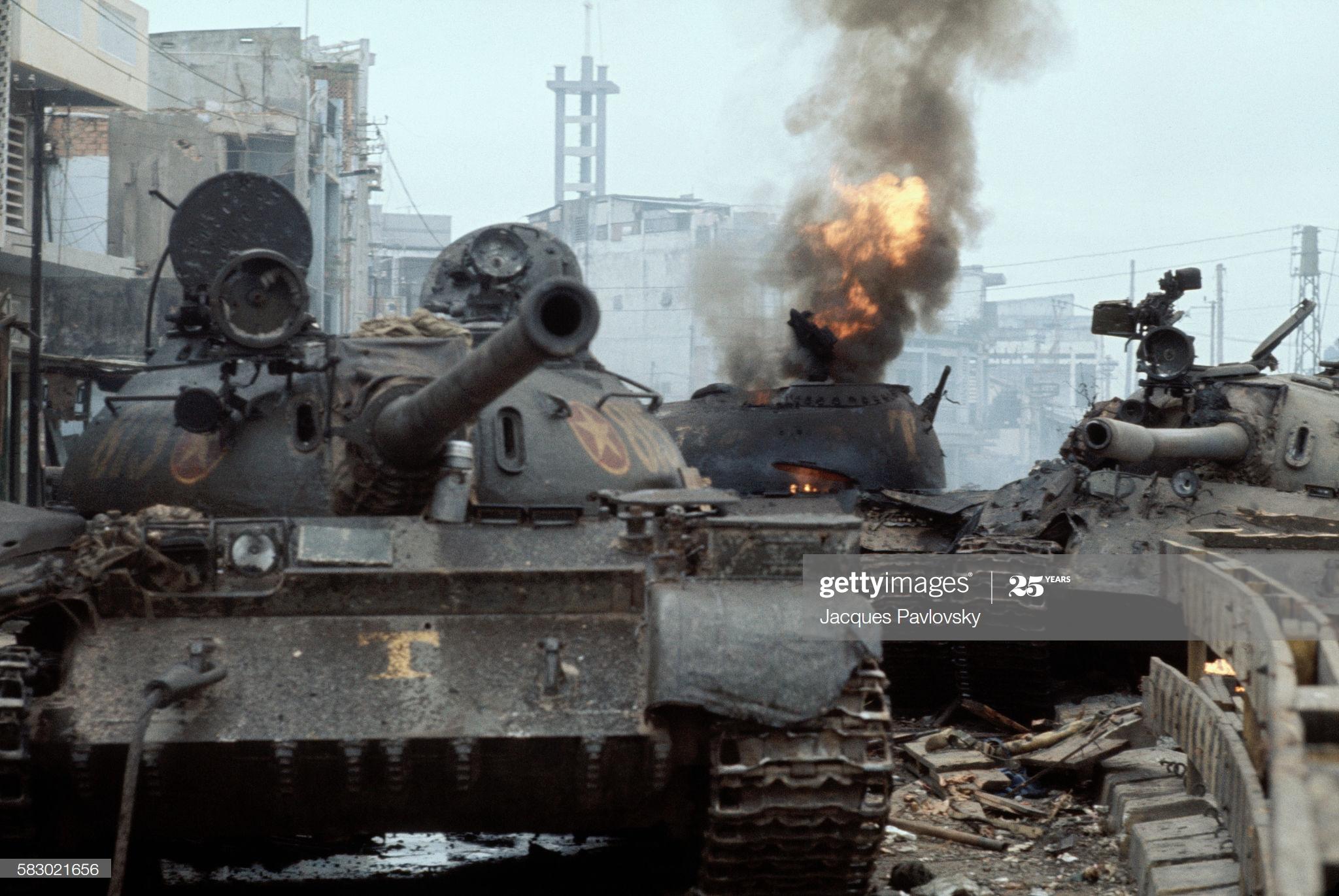 Những người lính tăng ngã xuống ở cửa ngõ Sài Gòn ngày 30/4/1975