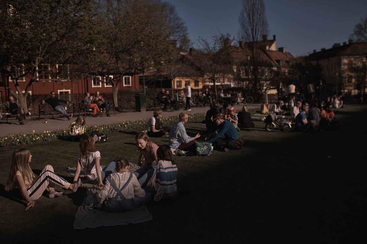 Chùm ảnh: Cuộc sống ở Thụy Điển giữa đại dịch COVID-19