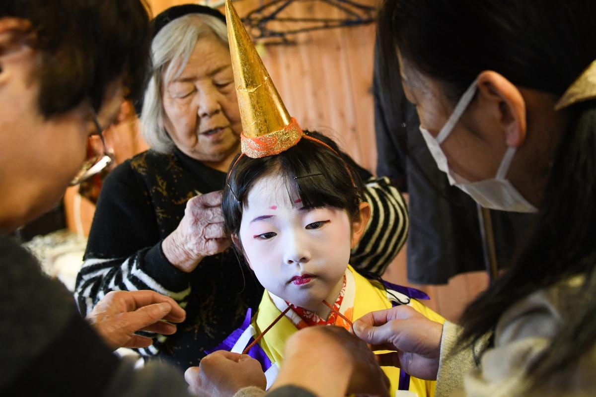 Chùm ảnh: Kịch Kabuki – nghệ thuật có nguy cơ thất truyền ở Nhật Bản