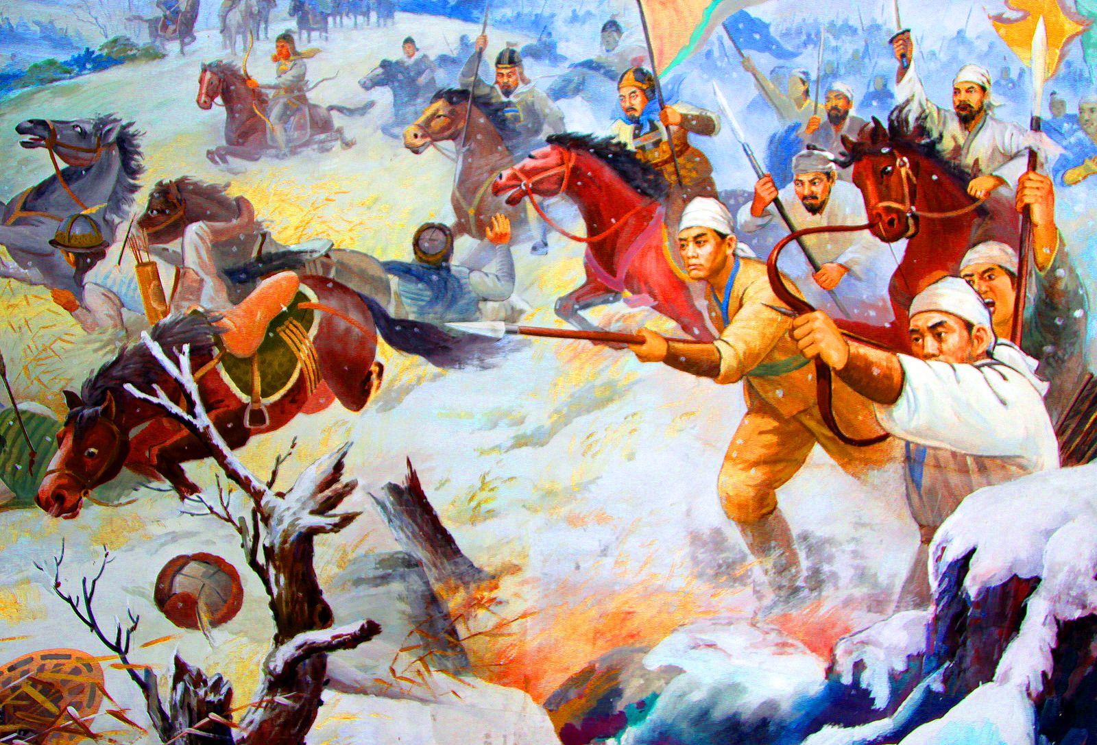Biến đổi khí hậu và sự sụp đổ của các triều đại Trung Hoa