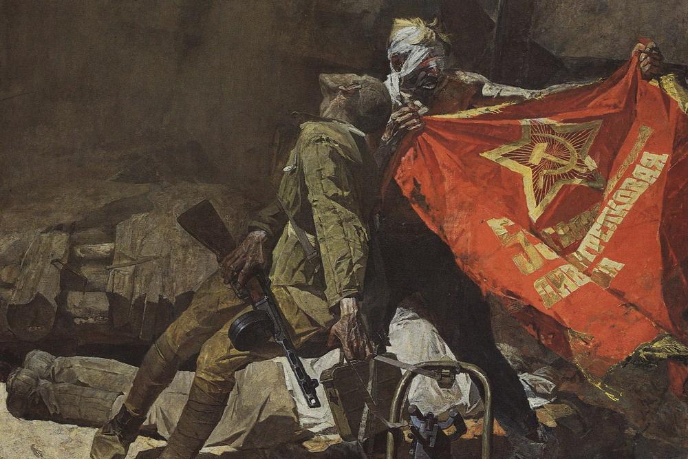 'Cuộc chiến tranh thần thánh' – bài ca của một đất nước anh hùng