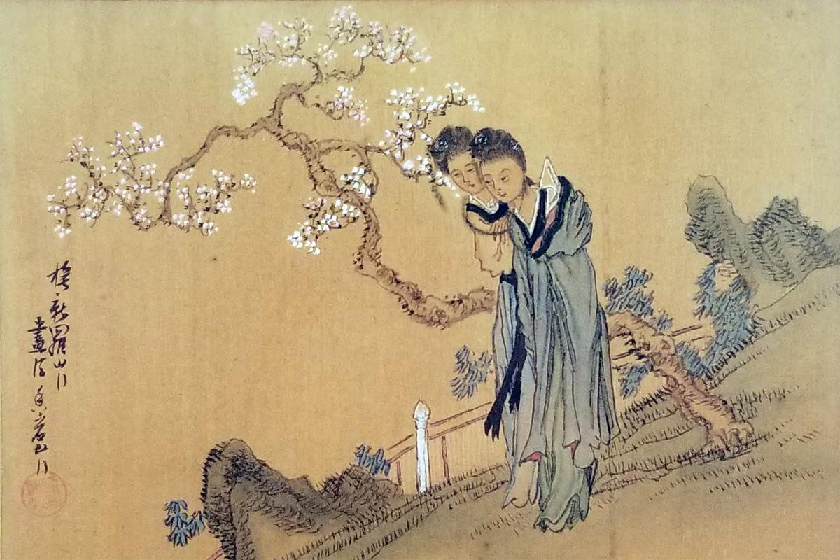 Đôi nét về nghệ thuật tranh lụa Trung Hoa