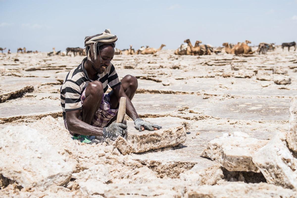 Chùm ảnh: Cuộc sống ở sa mạc Danakil – nơi nóng nhất thế giới