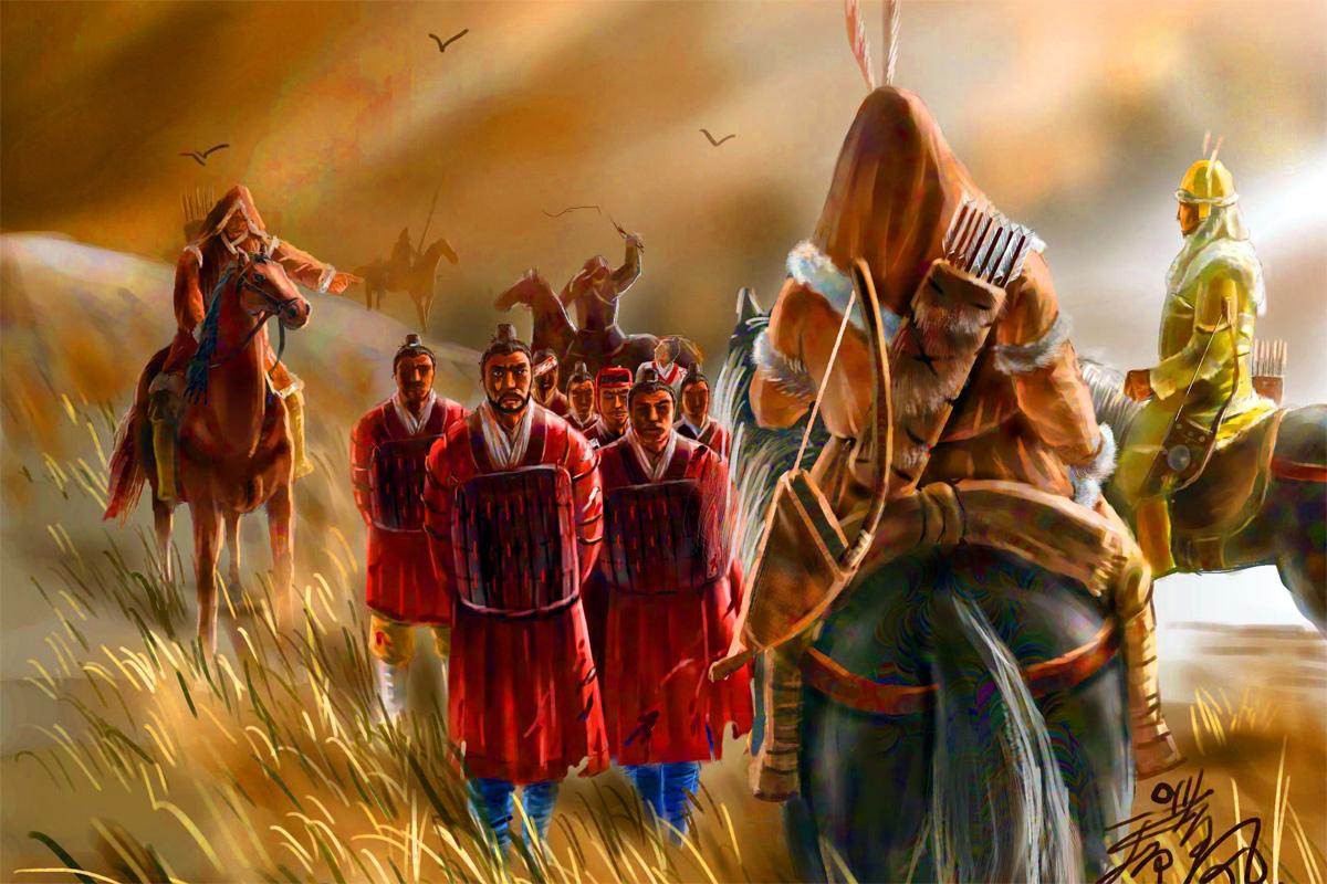 Người Hung Nô khiến Hán Cao Tổ sợ hãi, phải cống nạp vật phẩm, gái đẹp