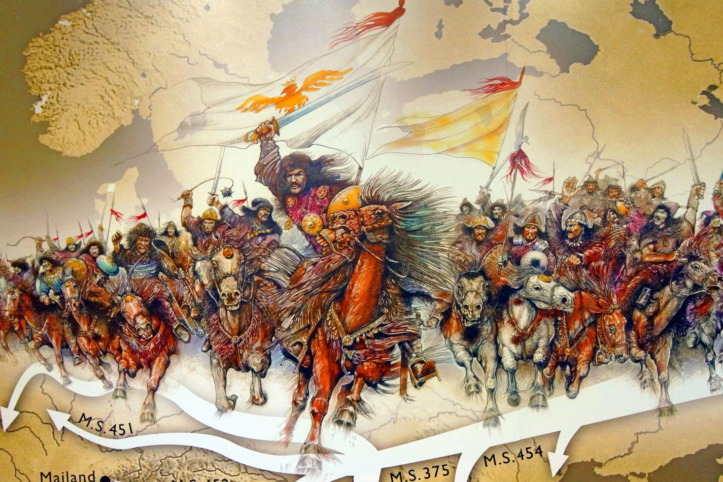 Thời hoàng kim của người Hung Nô: San bằng Trung Á, bắt La Mã cống nạp