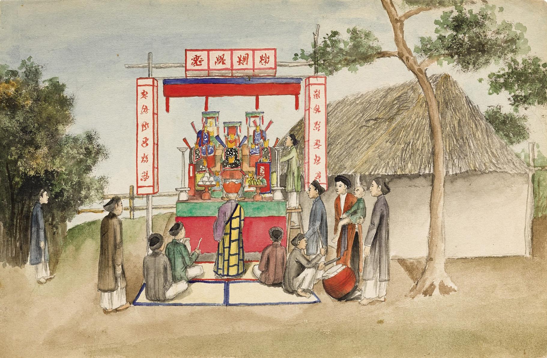 Giáo sĩ Alexandre de Rhodes viết về xứ Đàng Ngoài: Tiễn đưa người chết