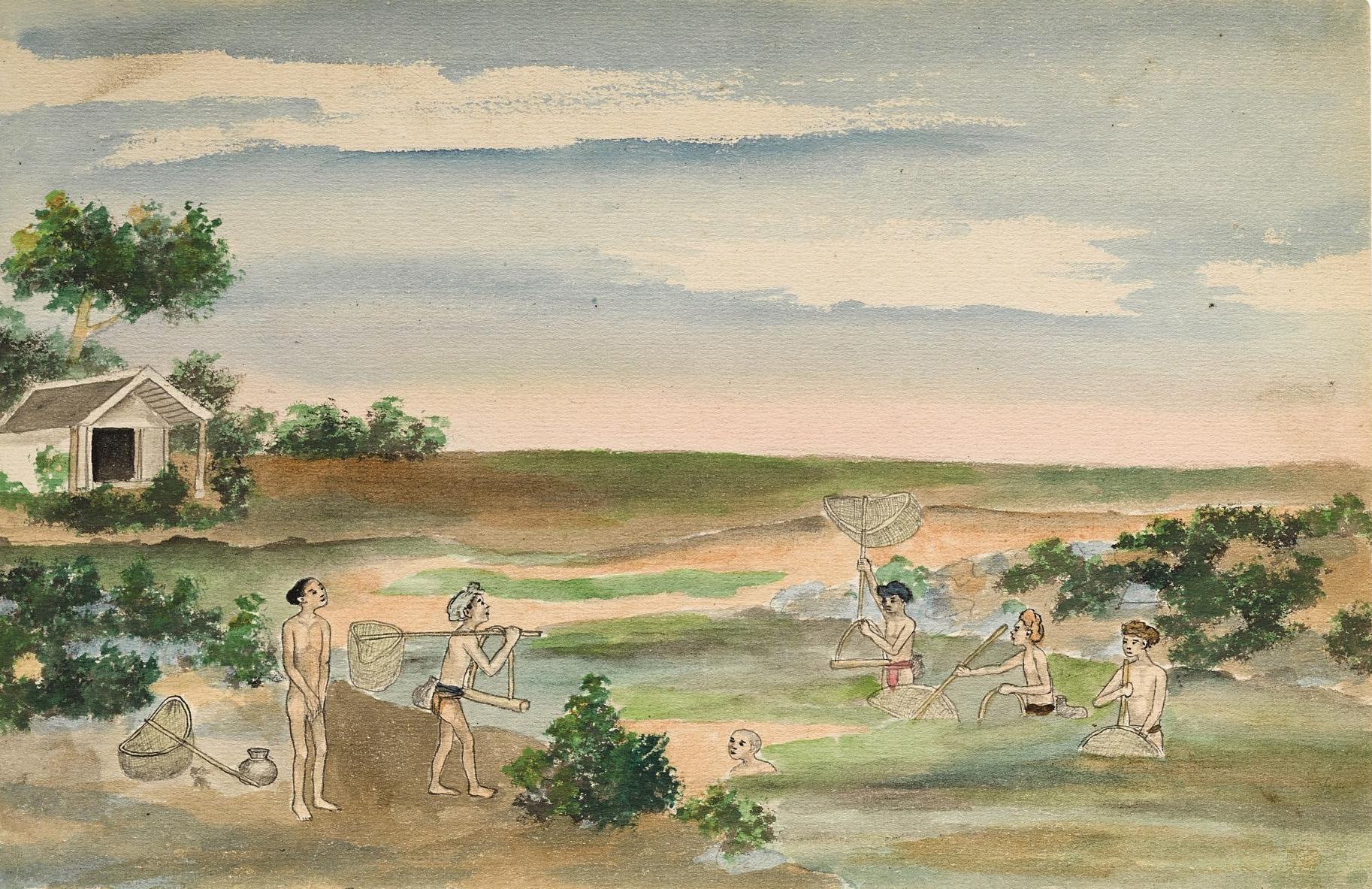Bộ tranh lý thú về đời sống ở Nam Định cuối thế kỷ 19