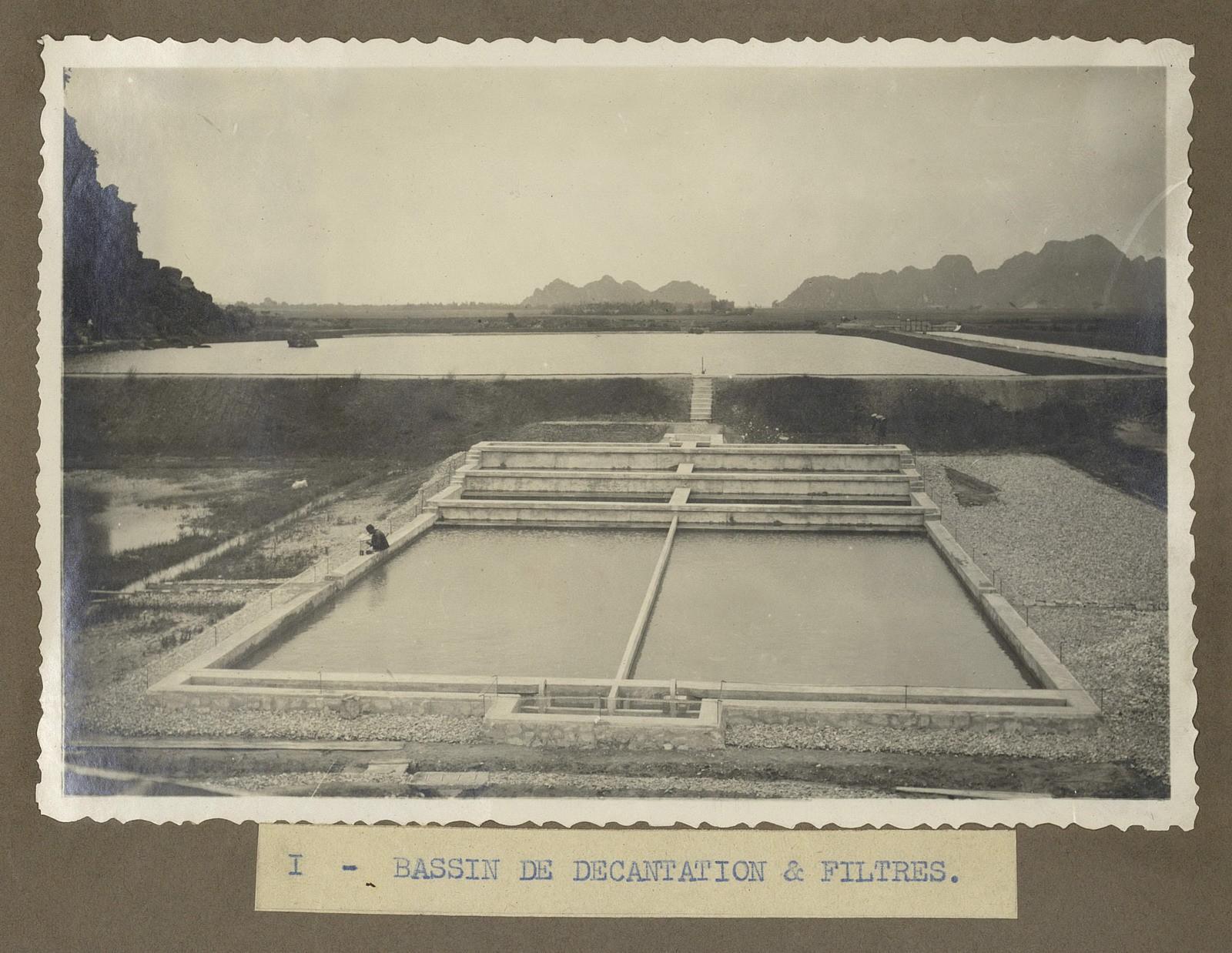 Chùm ảnh: Nhà máy nước ở Thanh Hóa 100 năm trước