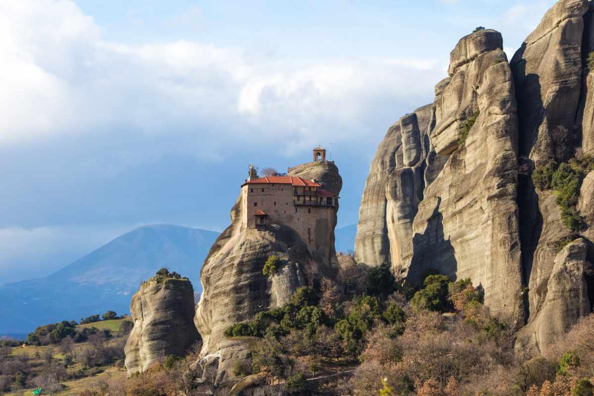 Chùm ảnh: Meteora – quần thể tu viện trên cột sa thạch kỳ vĩ