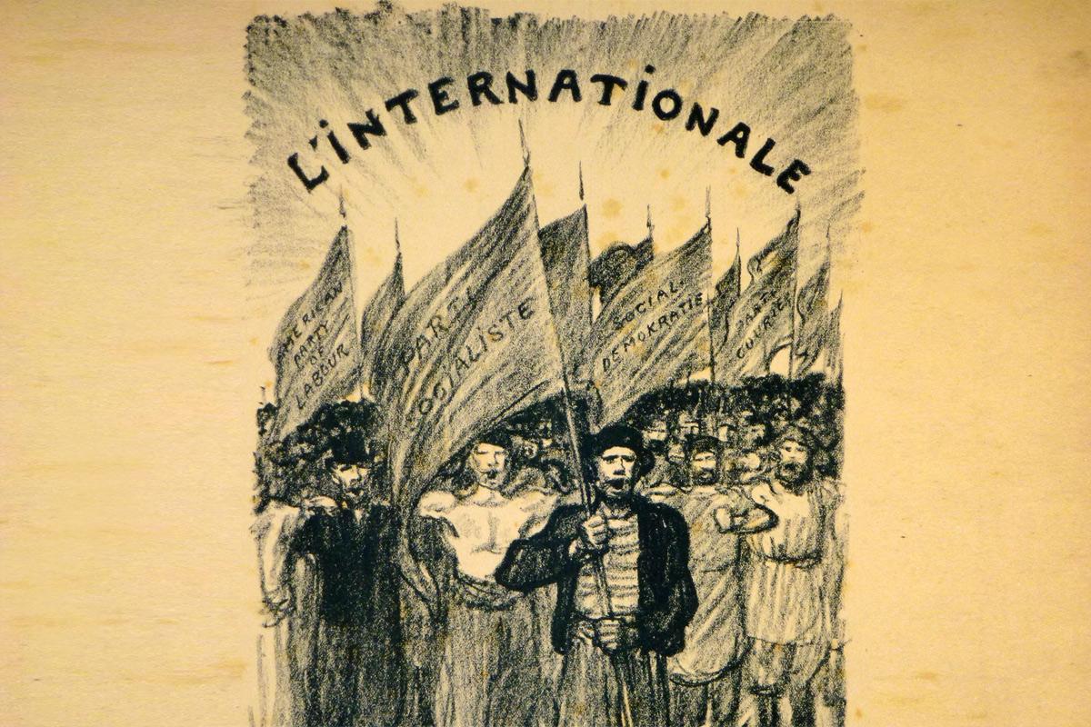 Quốc tế ca – bản hùng ca của những người không cam chịu bị áp bức