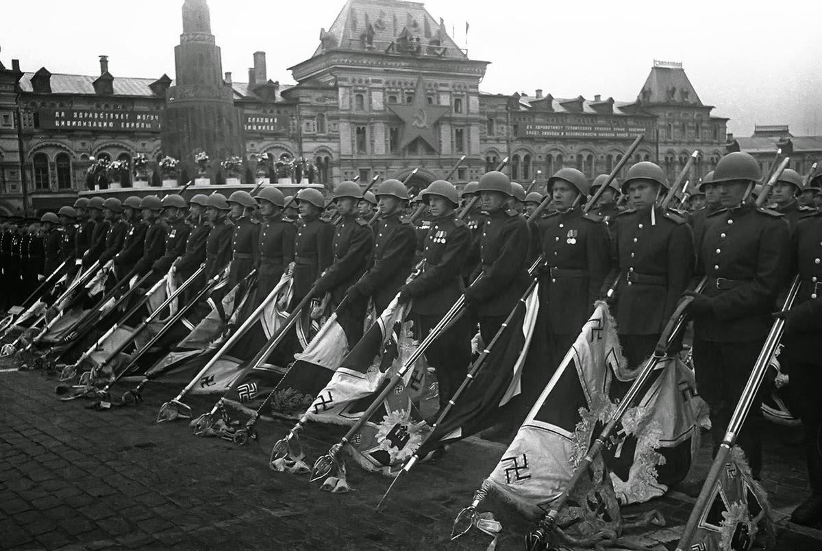 Cuộc Duyệt binh Chiến thắng ở Quảng trường Đỏ ngày 24/6/1945