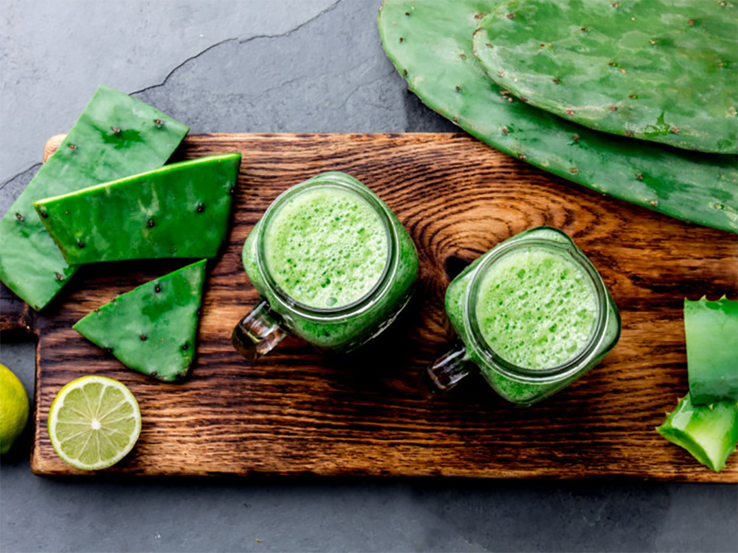 Chùm ảnh: Xương rồng – nguyên liệu thú vị của ẩm thực thế giới