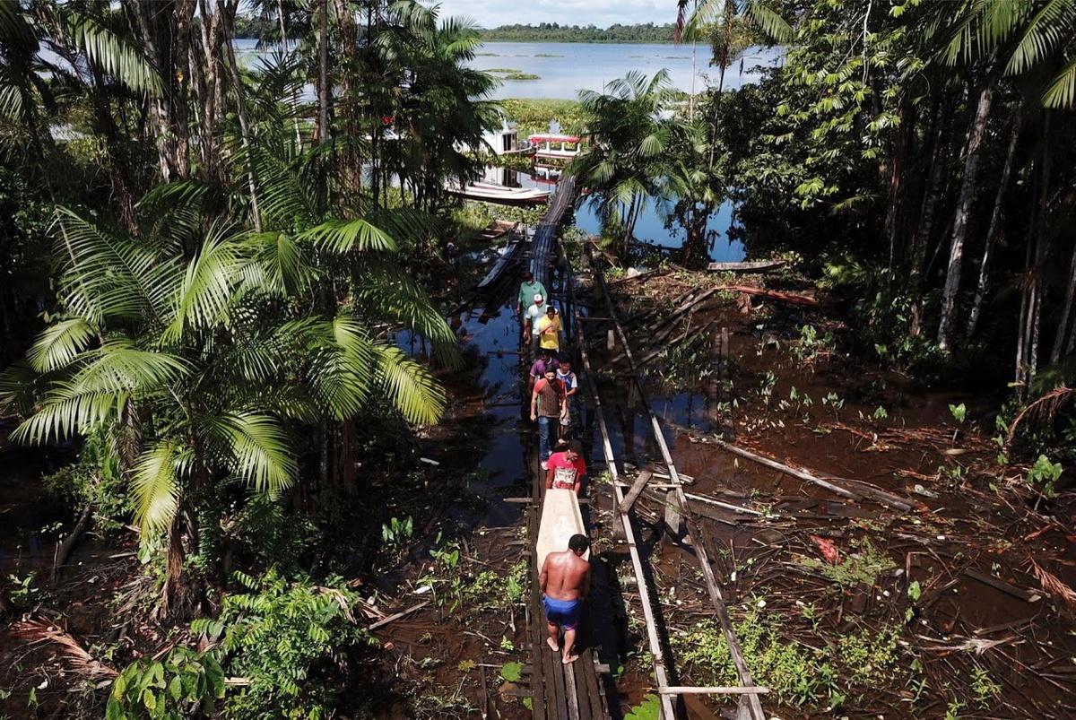 Chùm ảnh: Cơn ác mộng mang tên COVID-19 ở Amazon