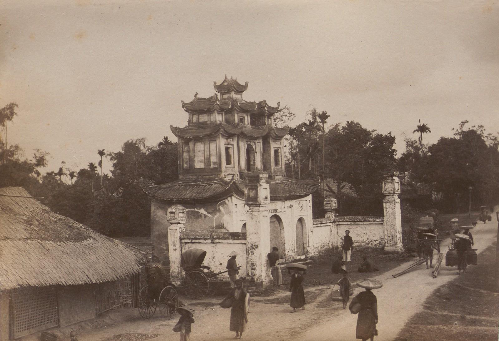 Những hình ảnh hiếm có về Hà Nội thập niên 1890